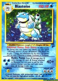 Blastoise (Base Set 2: 2/130)