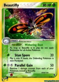 Beautifly (EX Ruby and Sapphire: 2/109)