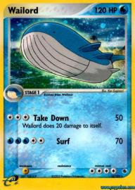 Wailord (EX Ruby and Sapphire: 14/109)