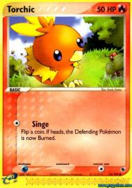 Torchic (EX Ruby and Sapphire: 74/109)