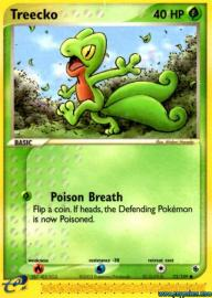 Treecko (EX Ruby and Sapphire: 75/109)