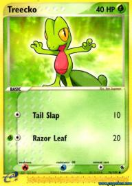 Treecko (EX Ruby and Sapphire: 76/109)