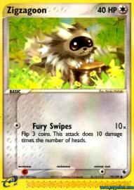 Zigzagoon (EX Ruby and Sapphire: 79/109)