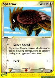 Spearow (EX Sandstorm: 81/100)