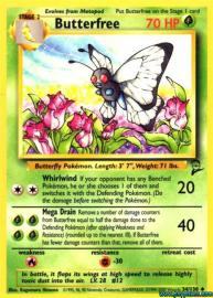 Butterfree (Base Set 2: 34/130)