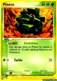Pineco (EX Dragon: 71/97)