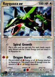 Rayquaza ex (EX Dragon: 97/97)