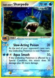Team Aqua's Sharpedo (EX Team Magma versus Team Aqua: 18/95)