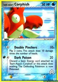 Team Aqua's Corphish (EX Team Magma versus Team Aqua: 26/95)