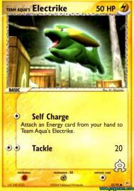 Team Aqua's Electrike (EX Team Magma versus Team Aqua: 53/95)