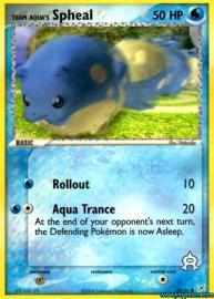 Team Aqua's Spheal (EX Team Magma versus Team Aqua: 57/95)