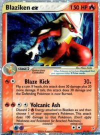 Blaziken ex (EX Team Magma versus Team Aqua: 89/95)