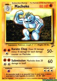Machoke (Base Set 2: 49/130)