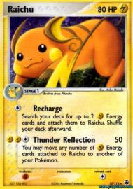 Raichu (EX Fire Red and Leaf Green: 12/112)