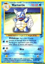 Wartortle (Base Set 2: 63/130)
