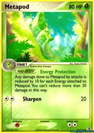 Metapod (EX Fire Red and Leaf Green: 39/112)