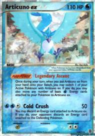 Articuno ex (EX Fire Red and Leaf Green: 114/112)