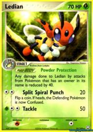 Ledian (EX Team Rocket Returns: 23/109)