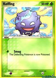 Koffing (EX Deoxys: 62/107)