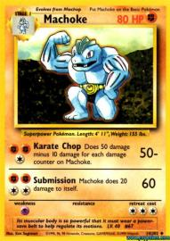 Machoke (Base Set: 34/102)