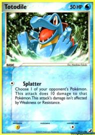 Totodile (EX Unseen Forces: 78/115)