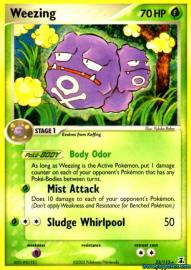 Weezing (EX Delta Species: 33/113)