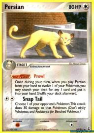 Persian (EX Delta Species: 50/113)