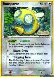 Dunsparce (EX Legend Maker: 31/92)