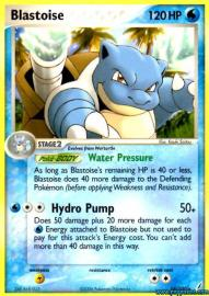 Blastoise (EX Crystal Guardians: 14/100)
