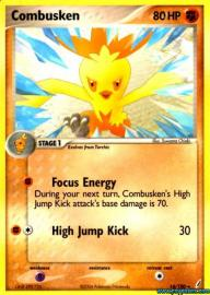 Combusken (EX Crystal Guardians: 16/100)