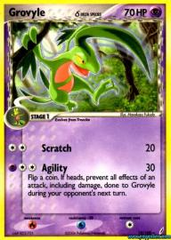 Grovyle (EX Crystal Guardians: 19/100)