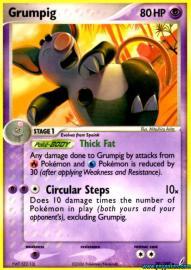 Grumpig (EX Crystal Guardians: 20/100)