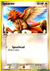 Spearow (EX Crystal Guardians: 61/100)