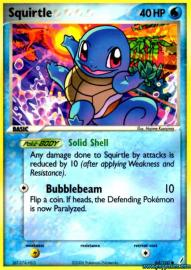 Squirtle (EX Crystal Guardians: 64/100)