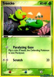 Treecko (EX Crystal Guardians: 67/100)