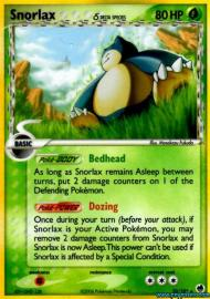 Snorlax (EX Dragon Frontiers: 10/101)