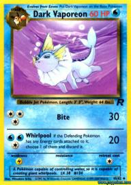 Dark Vaporeon (Team Rocket: 45/82)