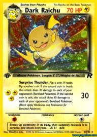 Dark Raichu (Team Rocket: 83/82)