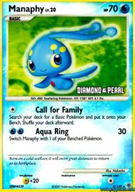 Manaphy (Diamond and Pearl: 9/130)