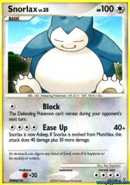 Snorlax (Diamond and Pearl: 37/130)
