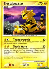 Electabuzz (Diamond and Pearl: 81/130)
