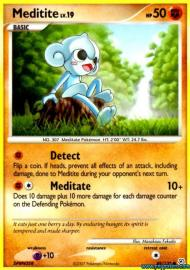 Meditite (Diamond and Pearl: 89/130)