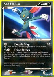 Sneasel (Diamond and Pearl: 100/130)