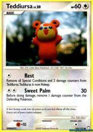 Teddiursa (Mysterious Treasures: 105/123)