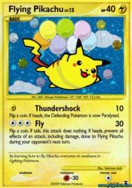 Flying Pikachu (Rising Rivals: 113/111)