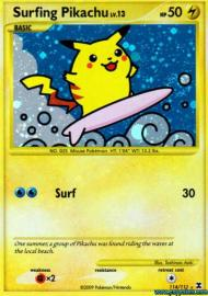 Surfing Pikachu (Rising Rivals: 114/111)