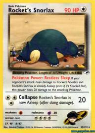 Rocket's Snorlax (Gym Heroes: 33/132)