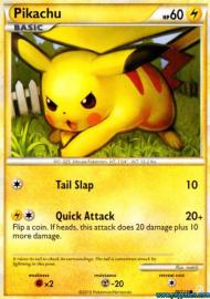 Pikachu (HeartGold & SoulSilver: 78/123)