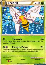 Beedrill (HGSS Unleashed: 12/95)