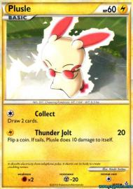 Plusle (HGSS Unleashed: 36/95)